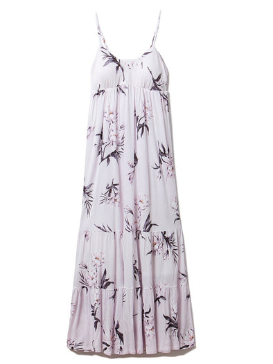 Summer Flower Long Dress