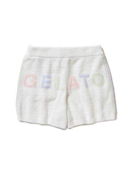 'Aqua Dry' Colorful Logo Jacquard Shorts (PWNP191118)