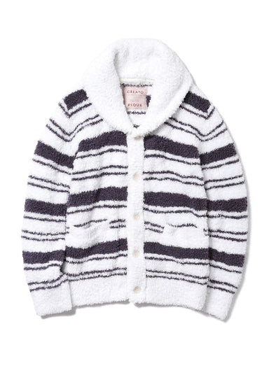 【X'mas limited edition】 HOMME Gelato Border Cardigan