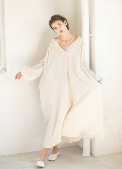 """Whipped"" Gauze Dress"