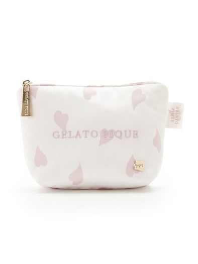 【CHERRY BLOSSOM FAIR】Petal Mothief Satin Tissue Pouch