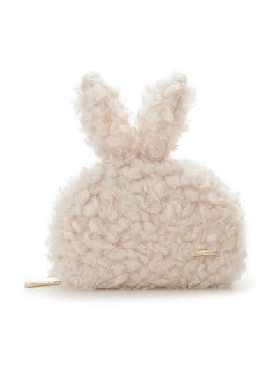 Rabbit Faux Fur Pouch