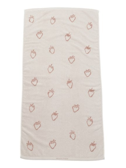Strawberry Bath Towel
