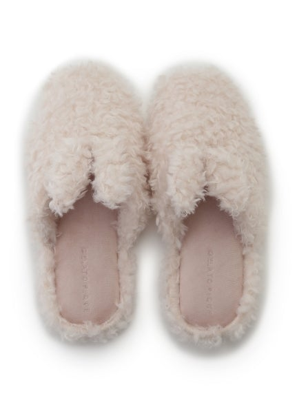 Rabbit Faux Fur Room Shoes