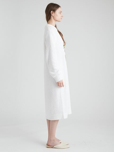 Powder Mothief Jacquard Dress