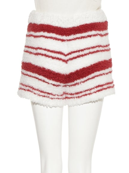 【X'mas Limited Edition】Gelato Striped Shorts (PWNP185129)