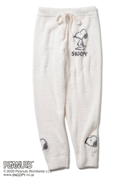 【PEANUTS】Jacquard Long Pants