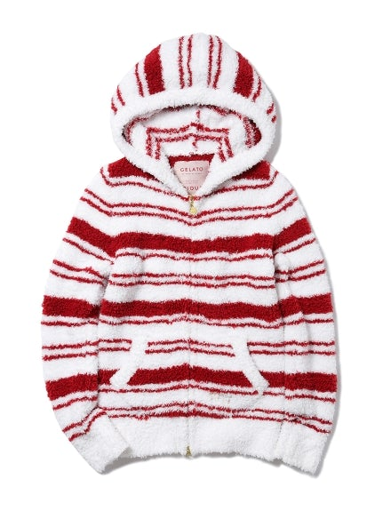 【X'mas Limited Edition】Gelato Striped Parka (PWNT185128)