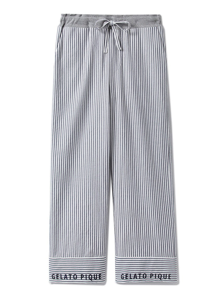 HOMME Striped Logo Pants (PMFP185989)