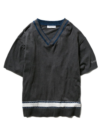 HOMME Light Smoothie Border Pullover (PMNT194918)