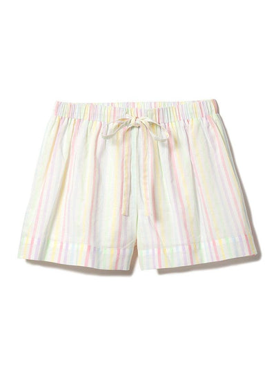 Cotton Candy Striped Shorts