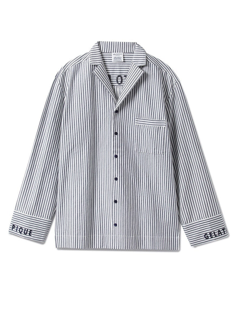 HOMME Striped Logo Shirt (PMFT185988)