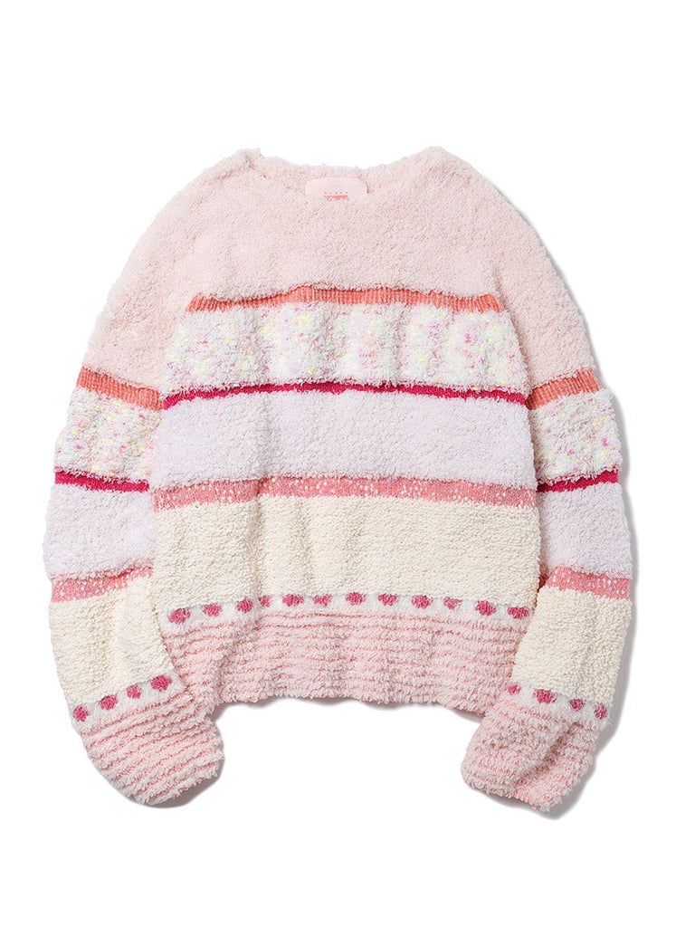 【10th】MIX Knit Pullover (PWNT185143)