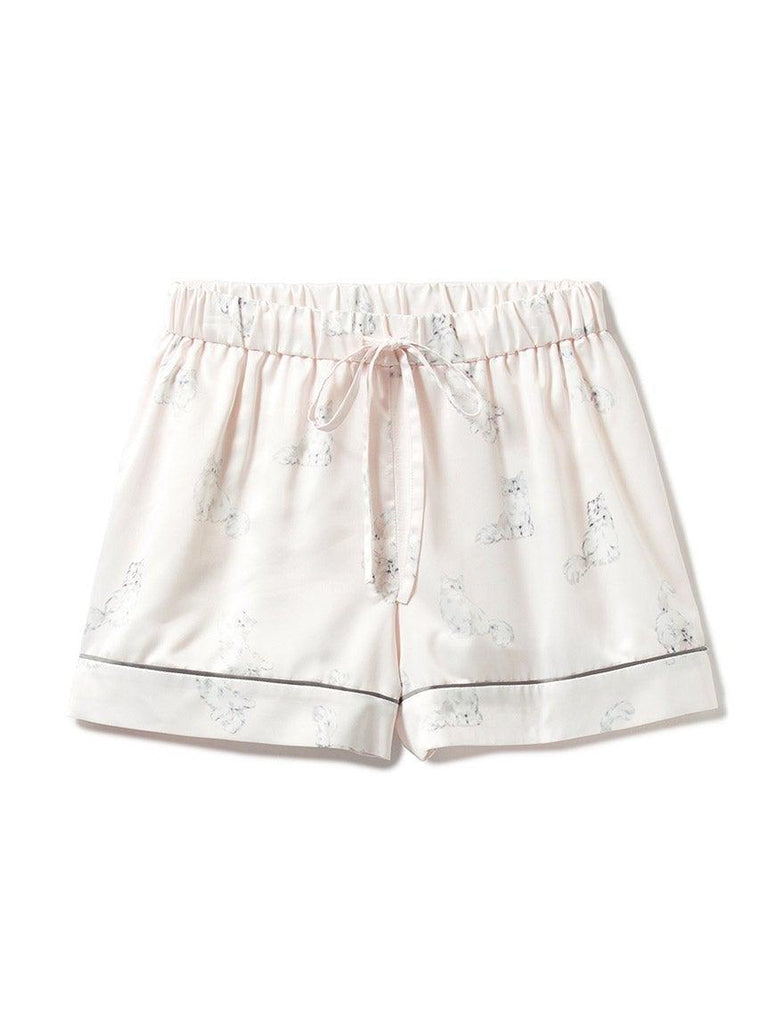 Cat Satin Shorts (PWFP184237)