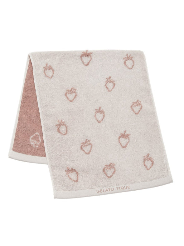 Strawberry Face Towel
