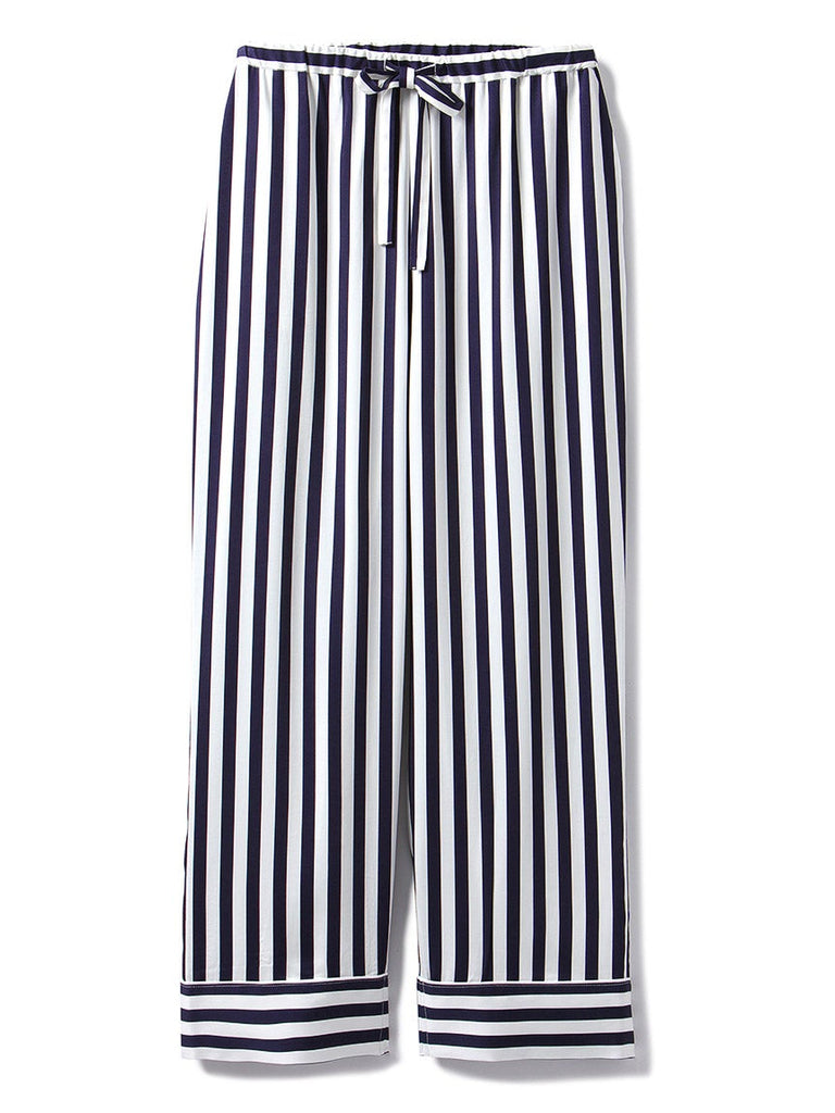 HOMME Anniversary Series Striped Satin Pants (PMFP185967)