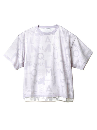 HOMME Layered Logo T-Shirt(PMNT192923)
