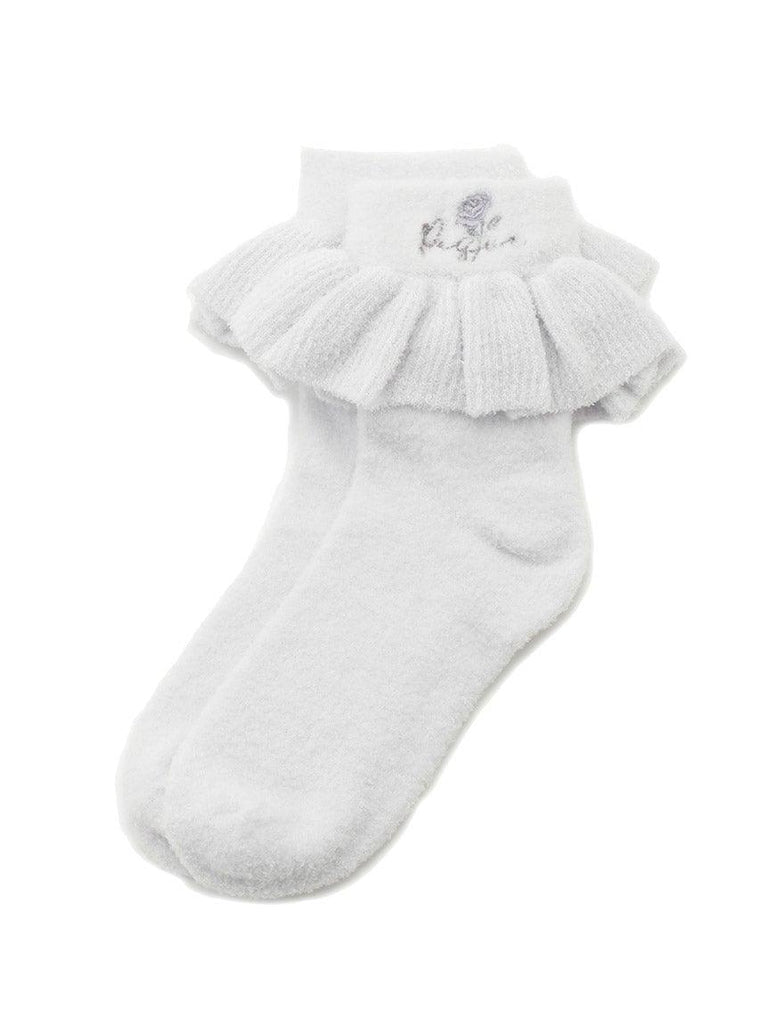 'Smoothie' Rose Frill Socks (PWGS191507)