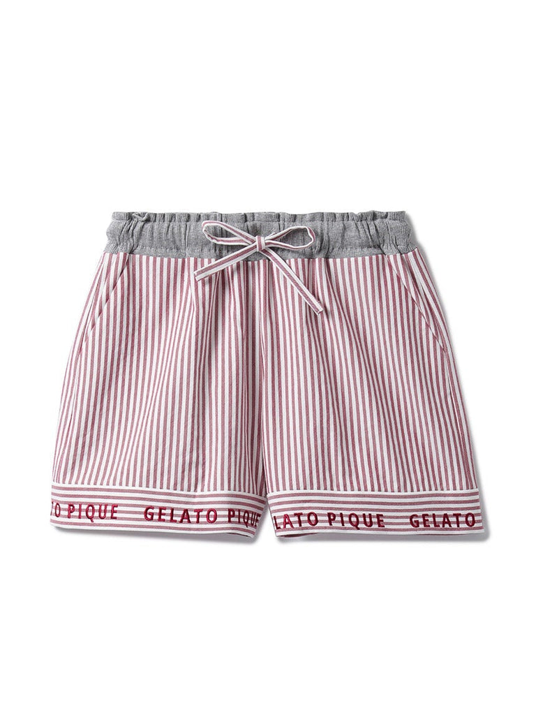 Striped Logo Shorts (PWFP185356)