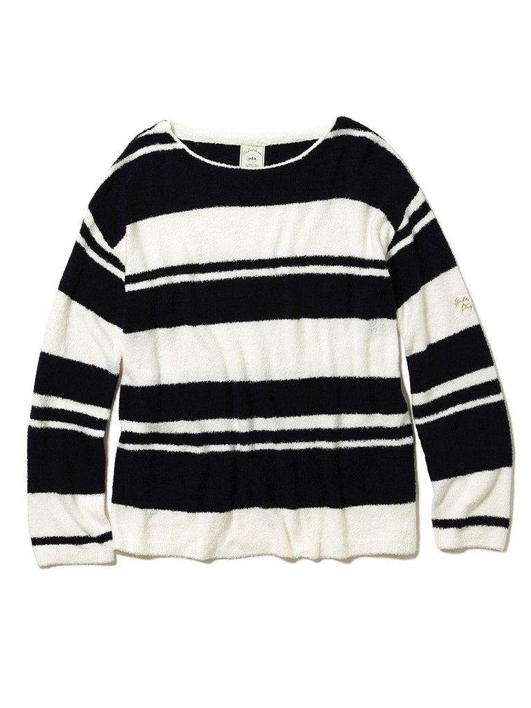 Smoothie X Bamboo Striped Pullover (PWNT181037)
