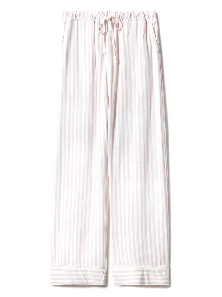 Stripe Modal Long Pants (PWCP191300)