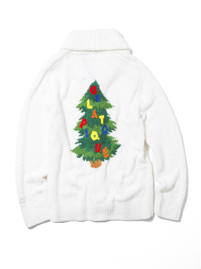 【X'mas limited edition】Christmas Tree Shawl Cardigan (PWNT185120)