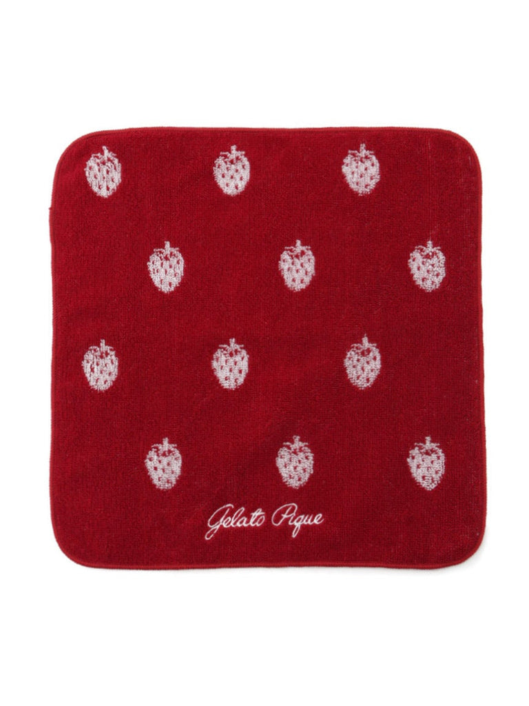 Strawberry Jacquard Hand Towel (PWGG191622)