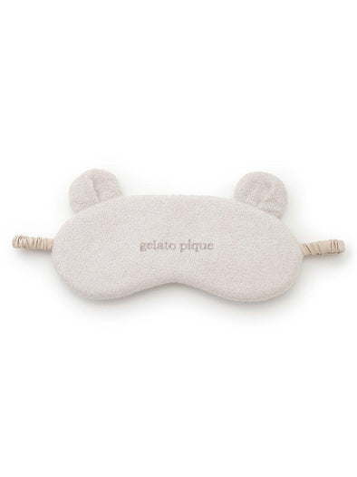 Cotton Pile Bear Eye Mask