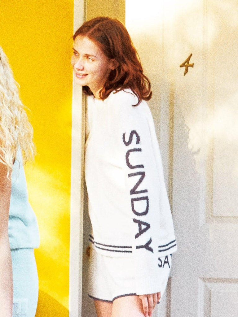 Sundays are Fundays Pullover (PWNT181070)