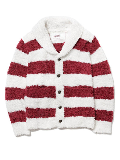 【X'mas limited edition】HOMME Gelato 2 Stripe Cardigan