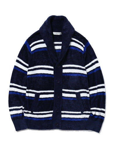 HOMME 'Smoothie' Border Shawl Cardigan