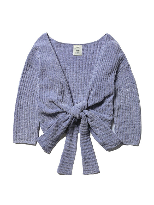 Light Smoothie Waffle Cardigan(PWNT192075)