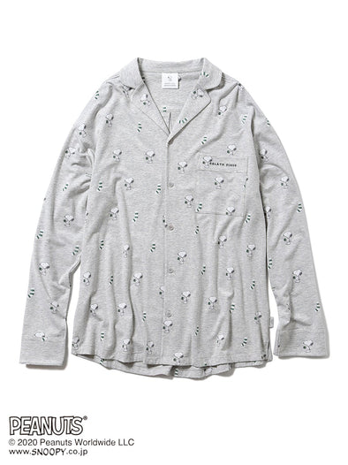 【PEANUTS】HOMME Pajama Shirt for MEN