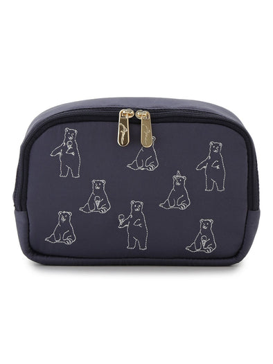 【Polar Bear Fair】Polar Bear Square Pouch