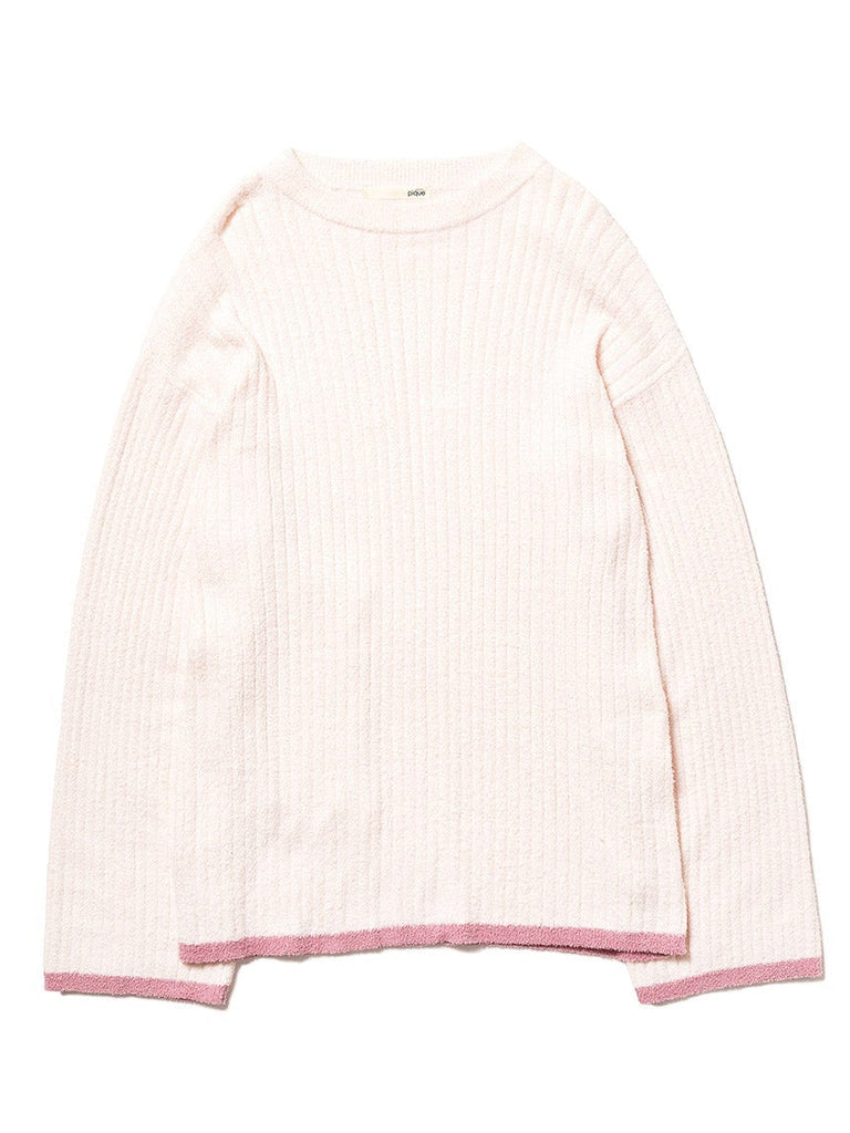 Temperature Control Smoothie Rib Pullover (PWNT184129)