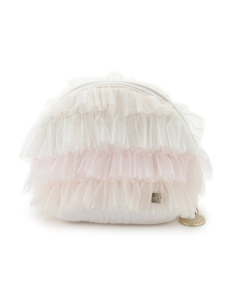 Stripe Tulle Pouch (PWGB191600)