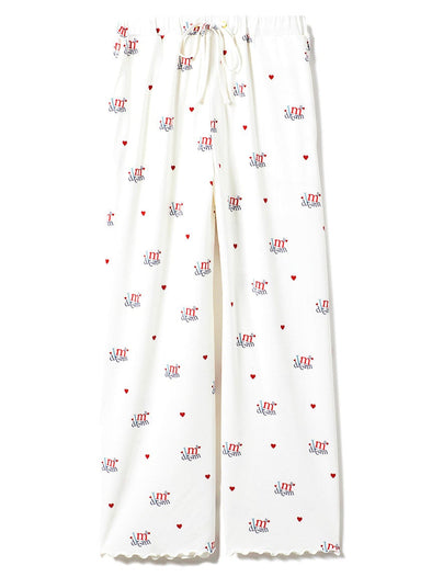 Heart Logo Long Pants