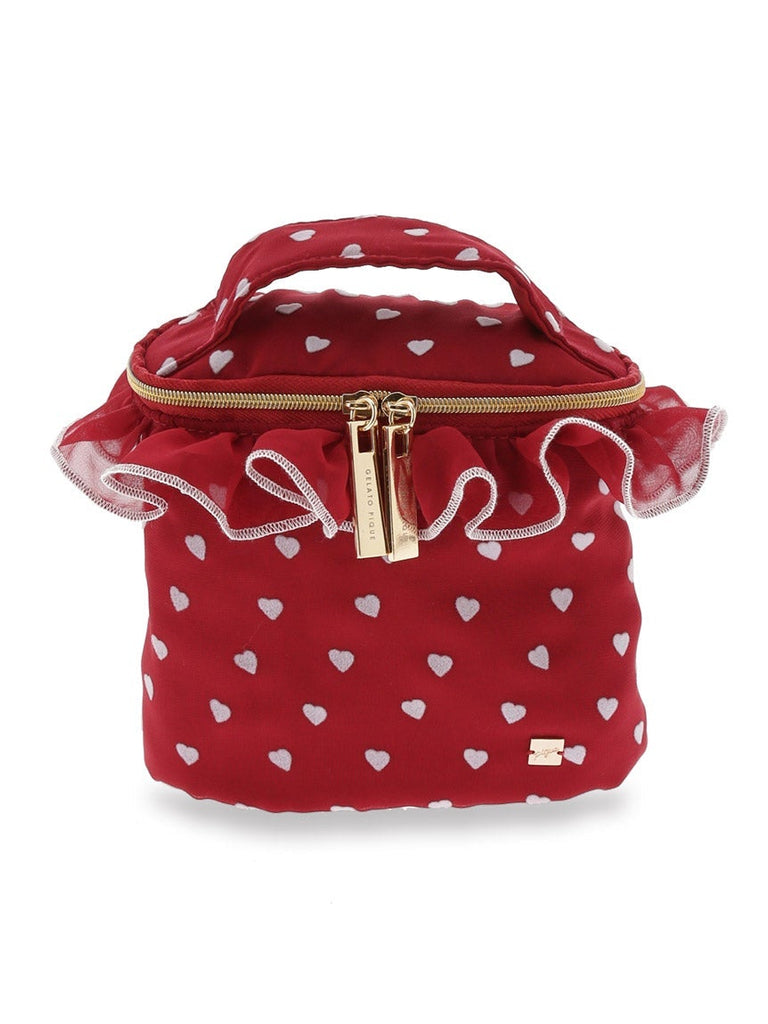 Heart Frocked Vanity Pouch (PWGB185621)