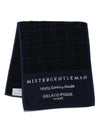【MISTERGENTLEMAN×HOMME】BLACKWATCH FACE TOWEL