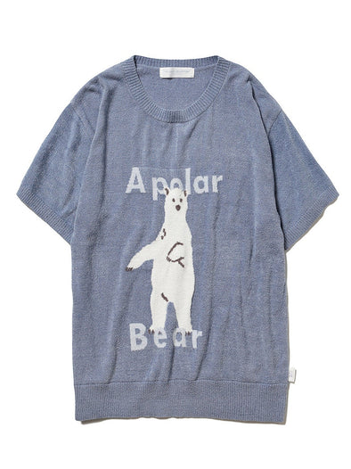 【Polar Bear Fair】Smoothie Light Pullover