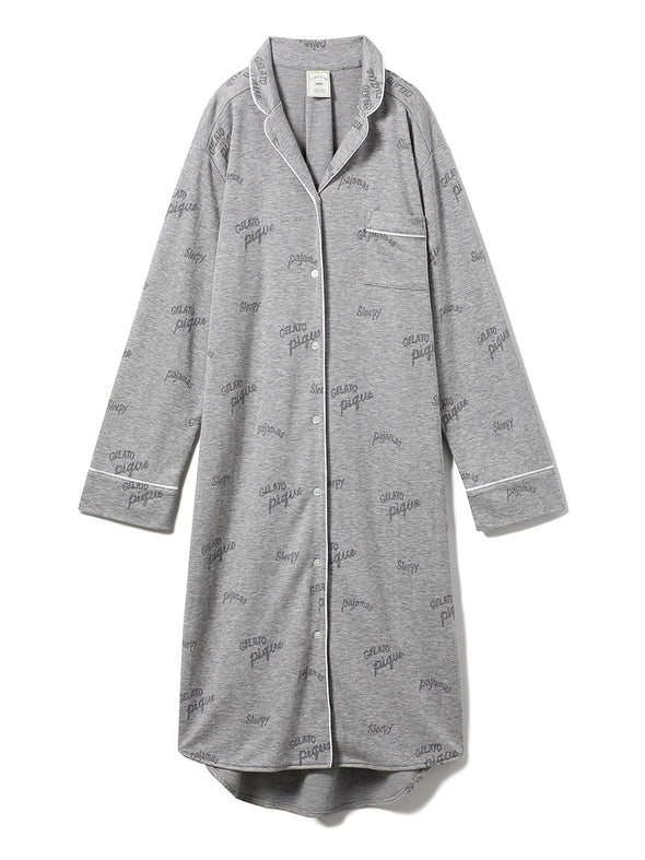 Logo Modal Shirt Dress (PWCO191246)