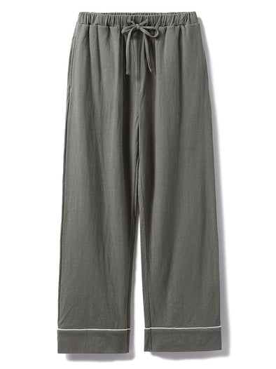 HOMME Organic Knotted Cotton Pants (PMCP185980)