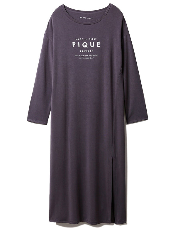 Rayon Logo Dress