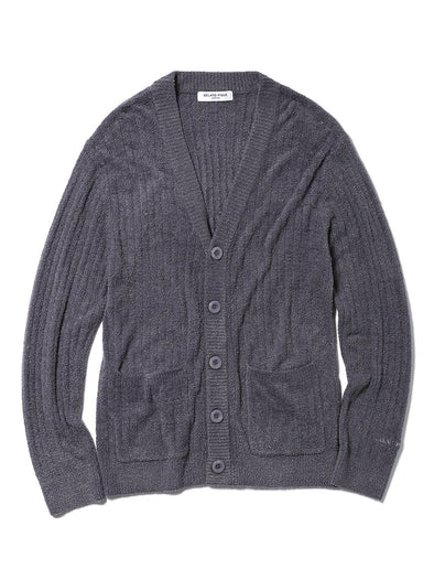 HOMME Hot Smoothie Ribbed Cardigan