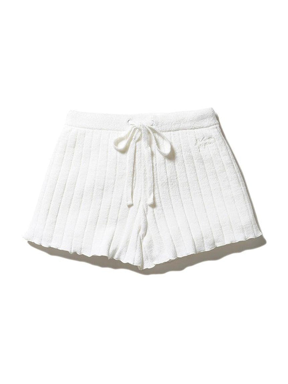 Airy Knitted Ribbed Shorts