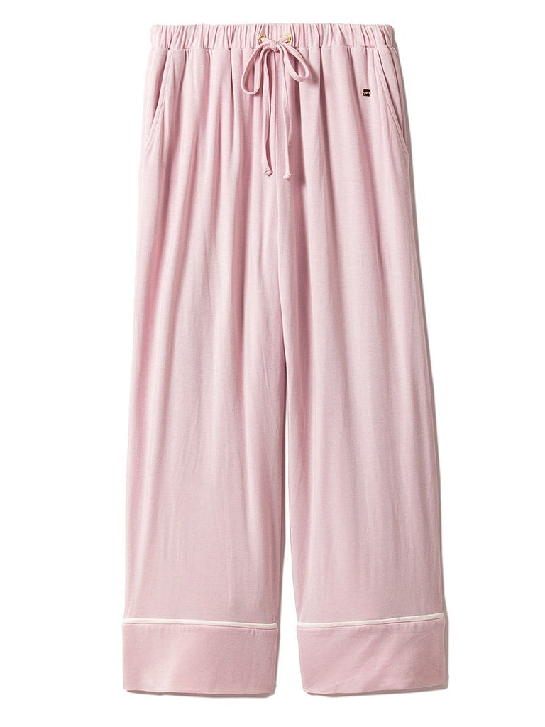 Mixed Silk Long Pants (PWCP182266)