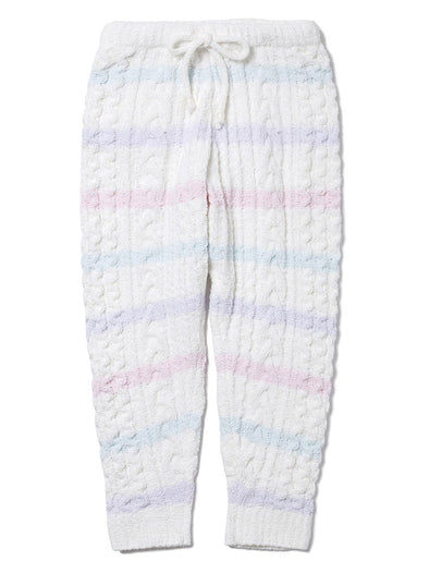 Soufflé Striped Aran Pants