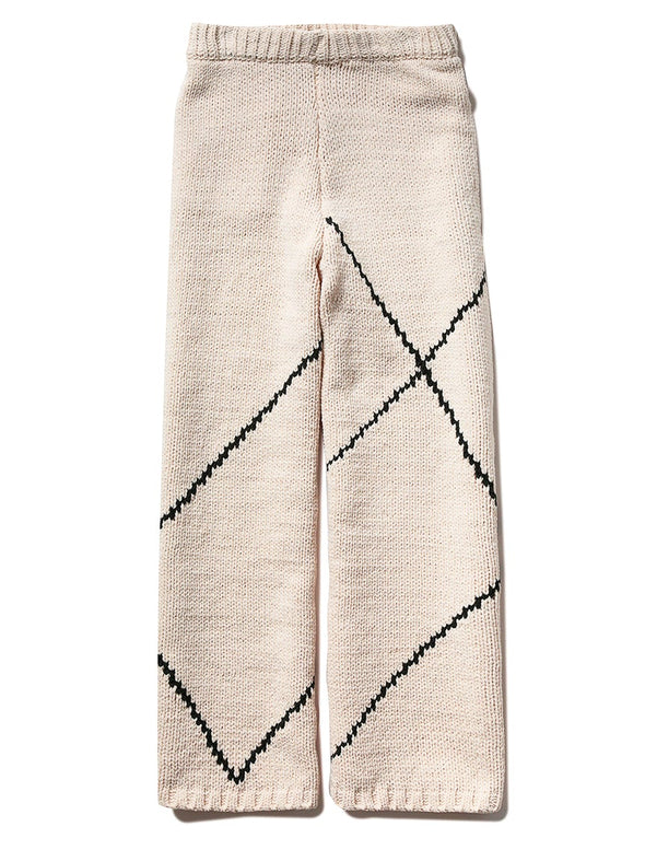 Rug-Knit Long Pants