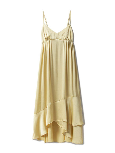 Vintage Satin Camisole Dress(PWFO185385)