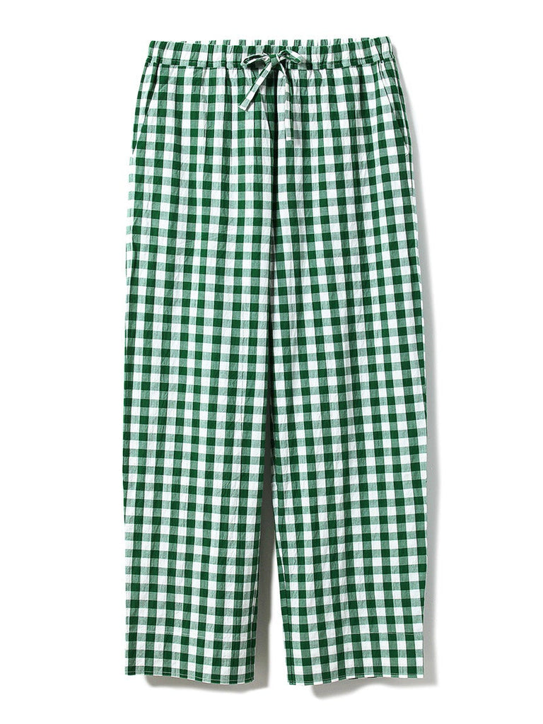 HOMME Gingham Check Long Pants (PMFP191938)